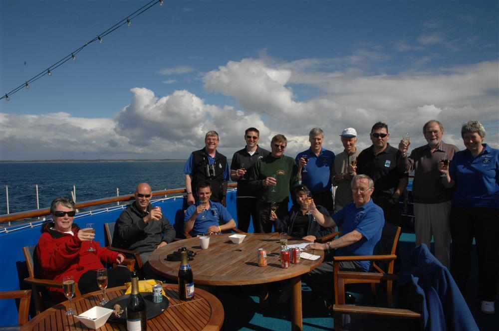 2009 Annual 'Fecal Feast' held in South Pacific on MV Spirit of Adventure 20th February